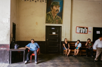 Inside An Office Building In Leon, Nicaragua 35mm