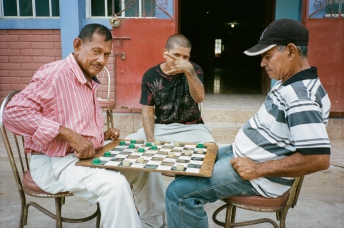 Locals On The Streets In El Salvador 35mm